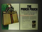 1972 Clairol Nice 'n Easy Hair Color Ad - Pooch Pouch