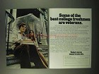 1972 U.S. Army Ad - Best College Freshmen are Veterans
