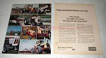 1972 Case and David Brown Tractors Ad - Big-Power