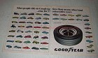 1972 Goodyear Polyglas Tires Ad - More People Ride On