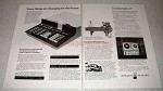 1972 Hewlett-Packard Ad - Model 20 Calculator