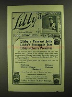 1907 Libby's Currant Jelly and Pineapple Jam Ad