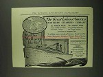 1907 Northern Steamship Company Ad - Great Lakes