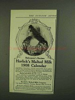 1907 Horlick's Malted Milk Ad - Juliet Shakespeare's