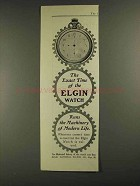 1903 Elgin National Watch Co Ad - The Exact Time
