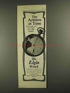 1903 Elgin National Watch Co Ad - The Arbiters of Time