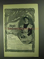 1903 Libby's Ox Tongues Ad - Picnic Luncheons