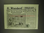 1903 Standard Porcelain Enameled Baths Ad