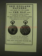 1903 The New England Elf Watch Ad - For the World