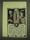 1903 Lifebuoy Soap Ad - The Doctor and Nurse
