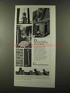 1973 Colonial Williamsburg Virginia Ad - Discover