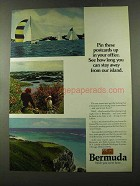 1973 Bermuda Tourism Ad - Pin Up in Your Office
