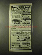 1973 Travel Equipment Lark RV's Ad - Fit Your Family