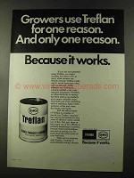 1973 Elanco Treflan Advertisement - Growers Use for One Reason