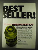 1973 Great Lakes Brom-o-Gas Ad - Best Seller!