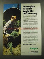 1973 Potlatch Corporation Ad - Plant for 21st Century