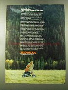 1973 Honda Minibikes Ad - To The Father Who Wants More