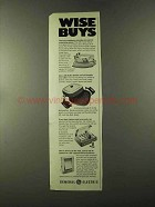 1973 General Electric Ad - Buffet Skillet, Speedsetter