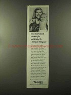 1973 Tampax Tampons Ad - One More Good Reason