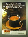 1973 Campbell's Tomato Soup Ad - Taste as Good
