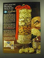 1973 Blue Diamond Almonds Ad - Give Festive Dinners