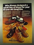 1973 Kinney Teen-a-bouts Shoes Ad - For Daughter