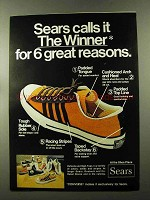 1973 Sears The Winner Converse Shoe Ad - Great Reasons