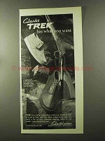 1973 Clarks Trek Shoes Ad - Has What You Want