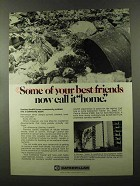 1973 Caterpillar Tractor Co. Ad - Your Best Friends