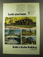 1973 Butler Buildings Ad - Look Your Best