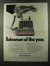 1973 C&P Telephone Ad - Salesman of the Year