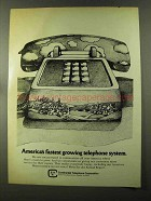 1973 Continental Telephone Corporation Ad - Growing