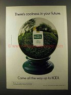 1973 Kool Cigarettes Ad - Coolness in Your Future