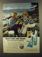 1973 Belair Cigarettes Ad - Start Fresh With Belair