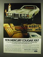 1974 Mercury Cougar XR-7 Ad - This New Breed
