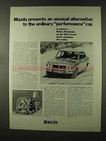 1973 Mazda RX-2 Coupe Ad - Unusual Alternative