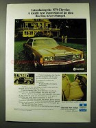 1974 Chrysler New Yorker Ad - New Expression