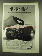 1973 Minolta Camera Ad - Joe Leonard Race Car