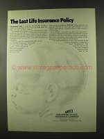 1973 Pan-American Life Insurance Company Ad - The Last