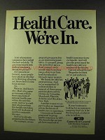 1973 Connecticut General Life Insurance Ad, Health Care