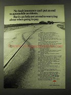 1973 Travelers Insurance Ad - No-Fault Automobile
