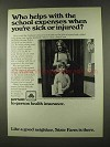 1973 State Farm Insurance Ad - School Expenses