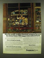 1973 Chemical Bank Ad, Worlds Smallest Chemical Company