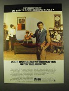 1973 USF&G Insurance Ad - Is Your View Behind Times