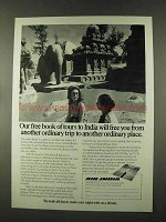 1973 Air India Ad - Free You From Ordinary