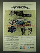 1973 Chrysler Corporation Ad - Engineering Differences