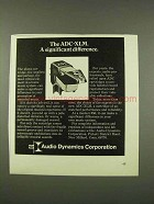 1973 Audio Dynamics ADC-XLM Phono Cartridge Ad