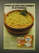 1973 Lipton Cup-A-Soup and Minute Rice Ad