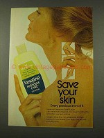 1973 Vaseline Intensive Care Lotion Ad - Save Your Skin