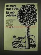 1973 Prevent Forest Fires Ad - It's More Than a Tree